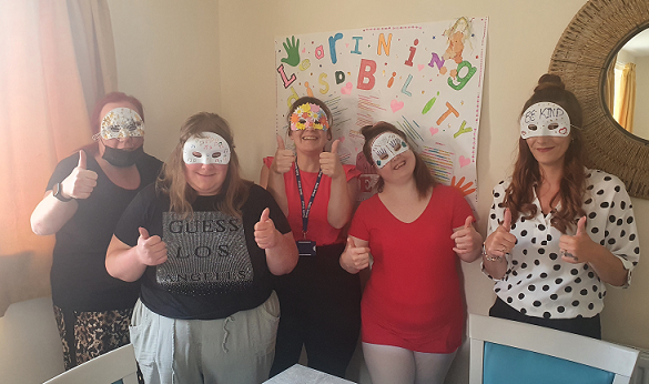 Getting creative for Learning Disability Week